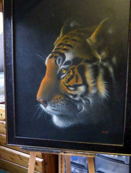 On the Prowl by artist Diarmid Doody